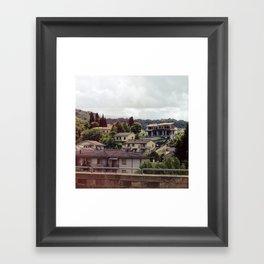 Rignano, Italy Framed Art Print