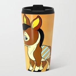 Childhood Donkey Metal Travel Mug
