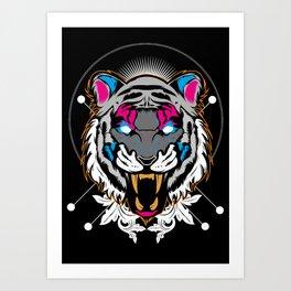 Roar! Art Print
