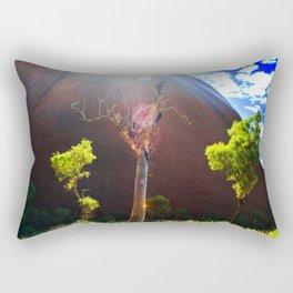 Beauty at Uluru Rectangular Pillow