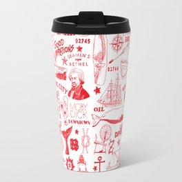 New Bedford Massachusetts Print Travel Mug