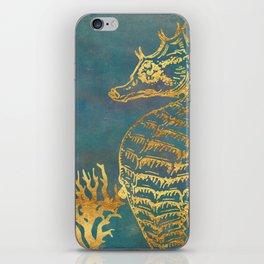 Deep Sea Life Seahorse iPhone Skin
