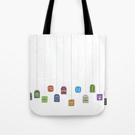 c[_] I love tea c[_] Tote Bag