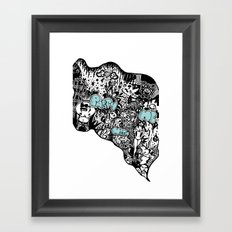 Party with me Framed Art Print