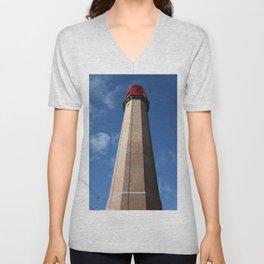 Lighthouse Flügge - Leuchtturm Flügge Unisex V-Neck