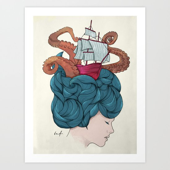 Mindful Art Print