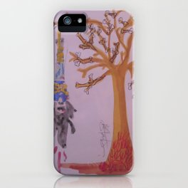 I Was Hung From A Tree Made Of Bones Of The Weak. The Branches The Bones Of The Liars The Thieves. iPhone Case