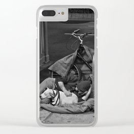 Give Me Your Poor & Tired (Pt 14 - NYC) Clear iPhone Case