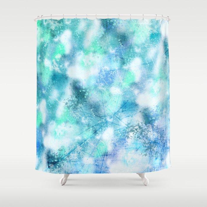 Cracked Geode Shower Curtain