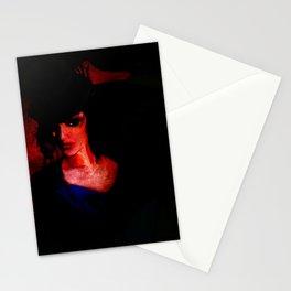 Caleido Noir Stationery Cards