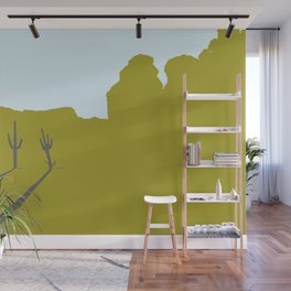 Two Cacti Wall Mural