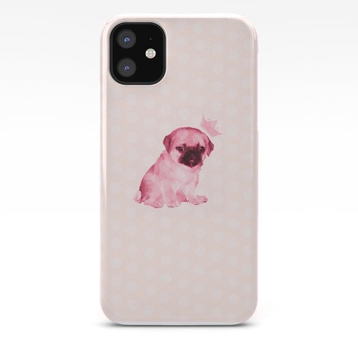 Pug Princesses iphone case