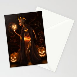 The Pumpkin Queen Stationery Cards