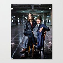 "Raymond Reddington & Elizabeth Keen: ""They always come together stronger."" Canvas Print"