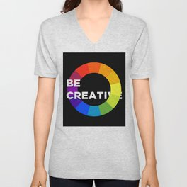 Be Creative Unisex V-Neck