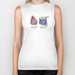heart beats Biker Tank