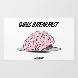 Brain snack Rug