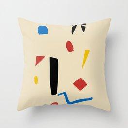 Scatter designs Throw Pillow