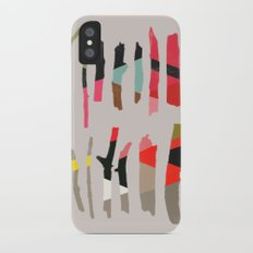 painted twigs 1 iPhone X Slim Case