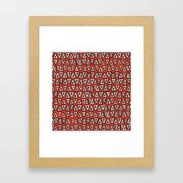 shakal fire Framed Art Print