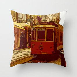 22 carmo Throw Pillow
