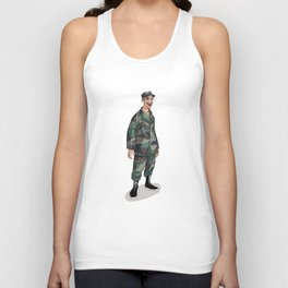 I'm going to Army Unisex Tank Top