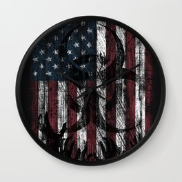 Infection USA Wall Clock