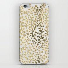 Gold Ivy iPhone & iPod Skin