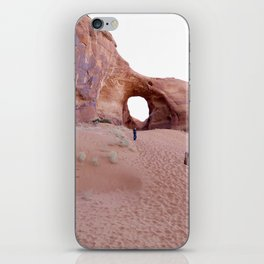 The Ear, the Backcountry, the Sand, and my Dad iPhone Skin
