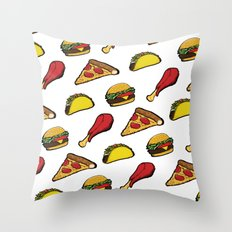 Yummm Throw Pillow