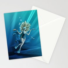 Deep Sea Feelings (Evolve) Stationery Cards