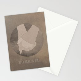 Your Hand In Mine. Stationery Cards