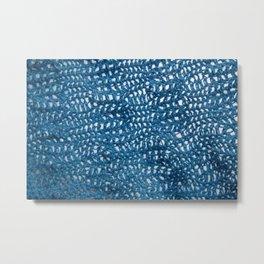 Blue Whimsy. Metal Print