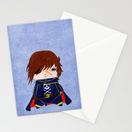 A Boy - Captain Harlock  / Albator Stationery Cards