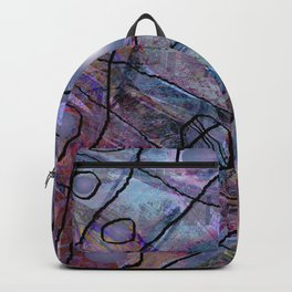 Maille bleue Backpack