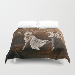 The Dancers Duvet Cover