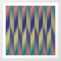 Pattern Wear 19 Art Print