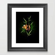 Curious Framed Art Print