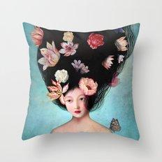 The Botanist's Daughter Throw Pillow
