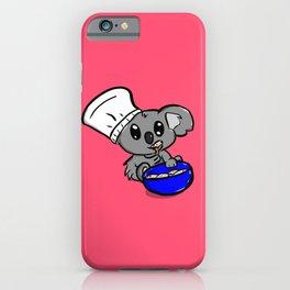 Koala Baker iPhone Case
