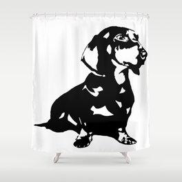 "DACHSHUND ""DOXIE""  DOG Shower Curtain"