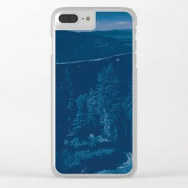 0213 Clear iPhone Case