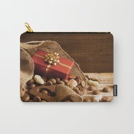 II - Bag with treats, for traditional Dutch holiday 'Sinterklaas' Carry-All Pouch