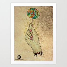 Sweets For The Sweet Art Print