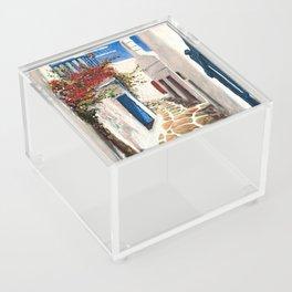 Mykonos Town, Greece Acrylic Box
