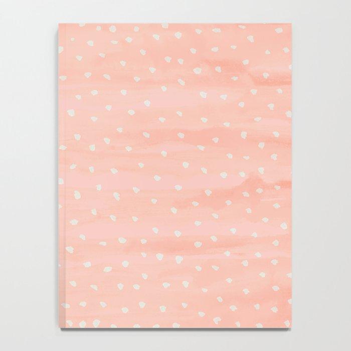 Beige Dots Notebook
