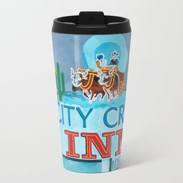 City Creek Motel Travel Mug