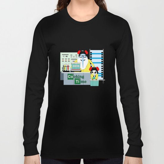 Icekingberg (AdventureTime+BreakingBad) Long Sleeve T-shirt