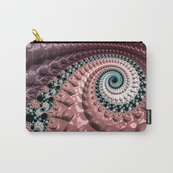 Lumpy Snail Carry-All Pouch