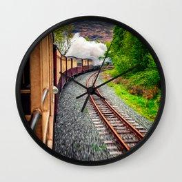 Welsh Highland Railway Snowdonia Wall Clock